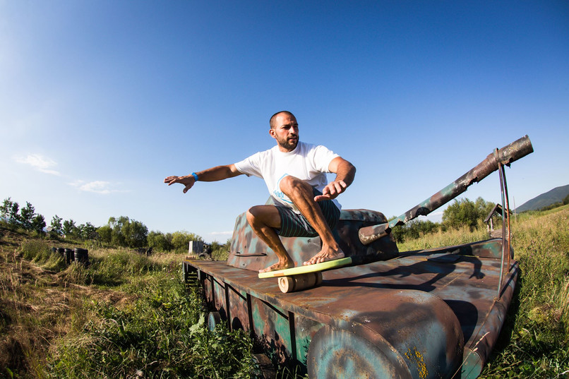 Echilibru pe Tanc